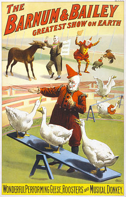 Barnum_&_Bailey_clowns_and_geese2