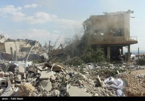 The_ruins_of_the_American_missile_attack_on_Syria_03