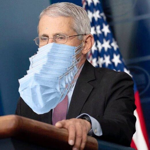 New Book Confirms Fauci's NIH Funded Wuhan Bat-COVID Experiments At Understaffed Chinese Lab Fauci_masks